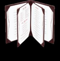 El menu del Resturante el Foro